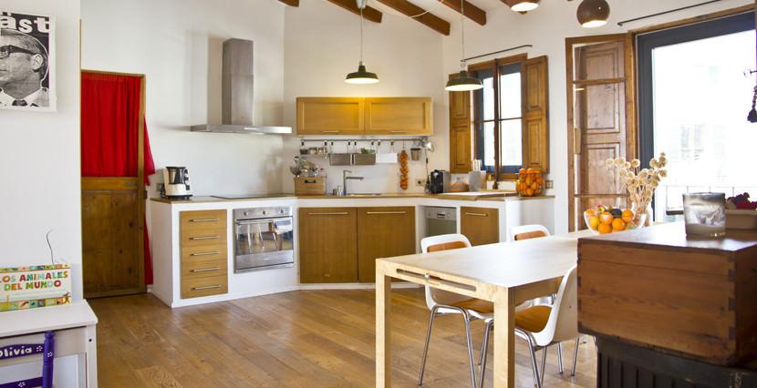unique villas mallorca apartment for sale in Establiments kitchen area
