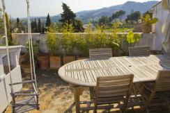 unique villas mallorca apartment for sale in Establiments terrace