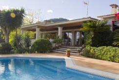 unique villas mallorca beautiful villa for sale in Son Vida swimming pool