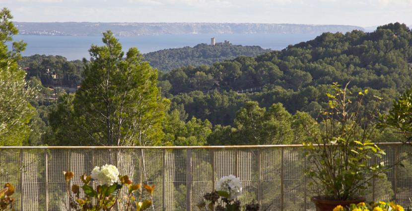 unique villas mallorca beautiful villa for sale in Son Vida views to forest