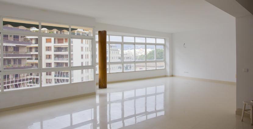 unique villas mallorca bright apartment for sale near avenidas living room