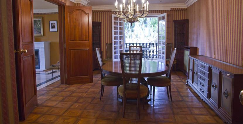 unique villas mallorca lovely villa to be reformed for sale in Son Vida dining room