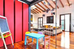 unique villas mallorca modern loft for sale in Palma kids zone