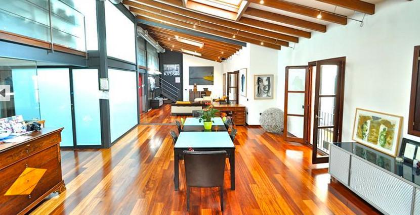 unique villas mallorca modern loft for sale in Palma living area