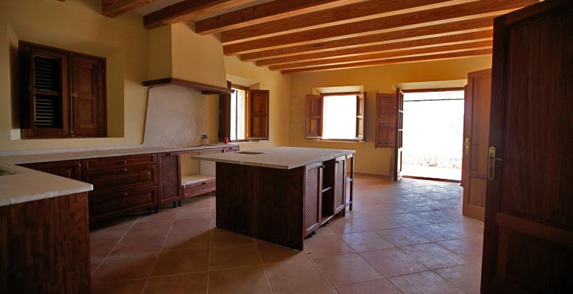 unique villas mallorca new build country house for sale in Valldemossa kitchen