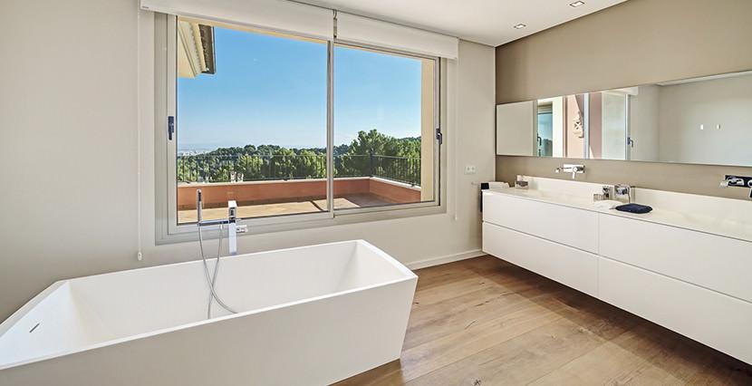 unique villas mallorca new modern villa for sale in son vida bathroom