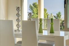 unique villas mallorca new modern villa for sale in son vida dining area