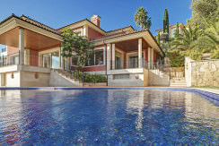 unique villas mallorca new modern villa for sale in son vida house view
