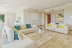unique villas mallorca new modern villa for sale in son vida living dining area2