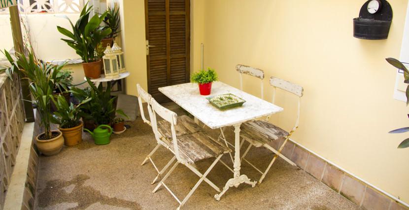 unique villas mallorca spacious apartment for sale in Palma old town indoor terrace