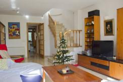 unique villas mallorca three storey detached house for sale in La Bonanova living room