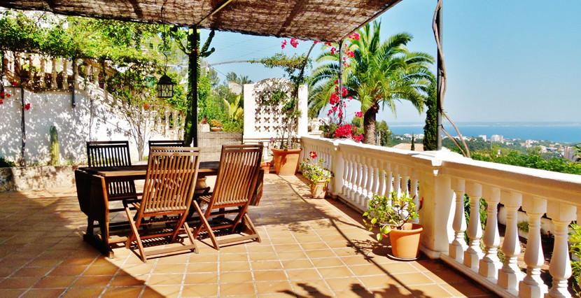 unique villas mallorca villa with seaviews for sale in Genova views views