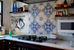 dream country house for sale in Alaro kitchen