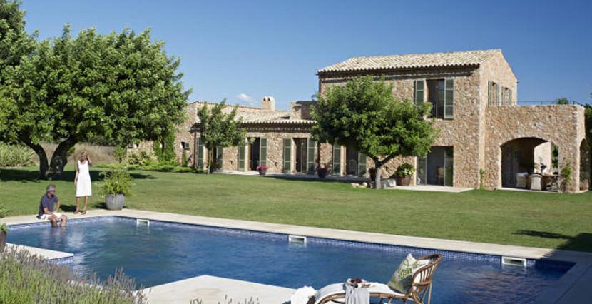 unique villas mallorca fabulous farmhouse for sale in santa maria total view