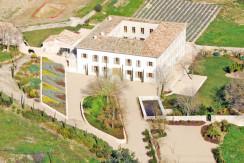 unique villas mallorca impressive manor estate for sale in Puigpunyent skyview