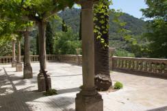unique villas mallorca magnificent villa for sale in idyllic Valldemossa porch area