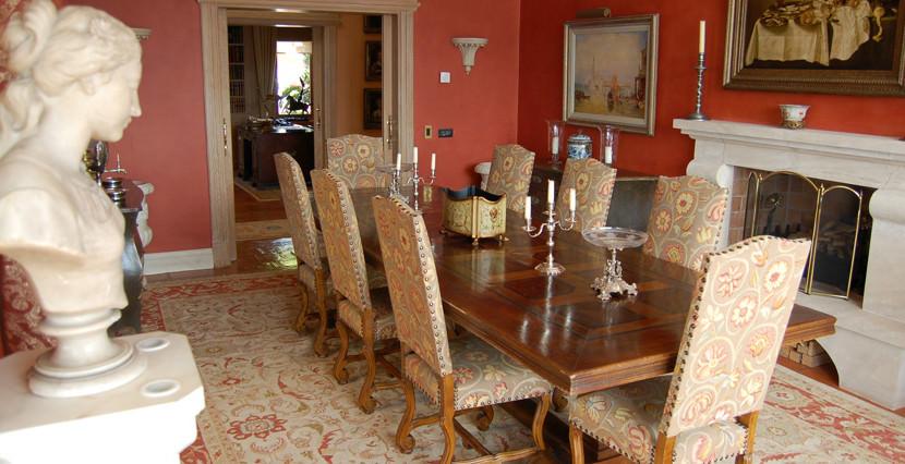 unique villas mallorca modern villa in port andratx dining room