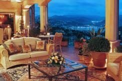 unique villas mallorca modern villa in port andratx night view