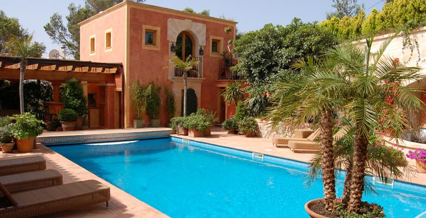 unique villas mallorca modern villa in port andratx swimming pool