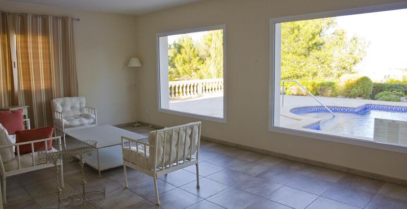 unique villas mallorca new apartments for sale in la Bonanova chill out area