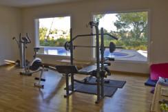 unique villas mallorca new apartments for sale in la Bonanova gym