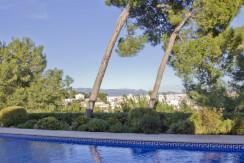 unique villas mallorca new apartments for sale in la Bonanova swimming pool