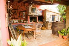 uniquevillasmallorca chaming house in establiments bbq area