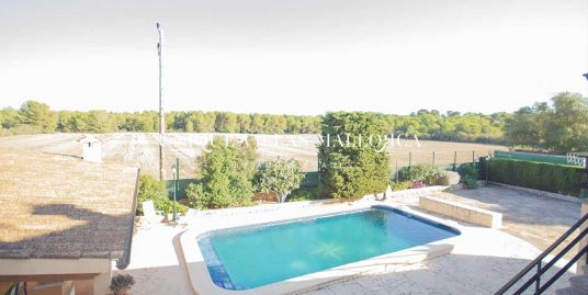 Elevated House with Swimming Pool for Sale in Cala Blava-uvm63