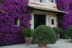 uniquevillasmallorca finca for sale in sencelles entrance