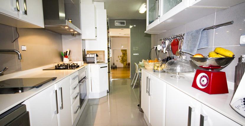 uniquevillasmallorca first floor for sale in La Bonanova kitchen