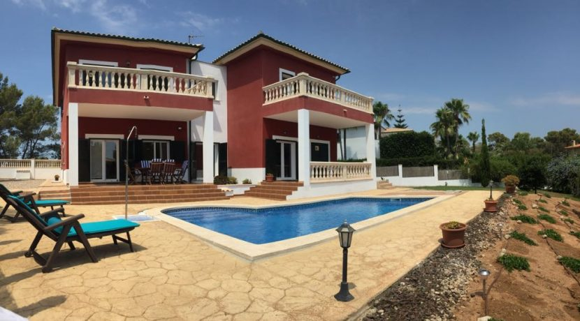 uniquevillasmallorca lovely villa for sale in cala vinyas swimming pool 3
