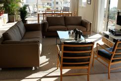 uniquevillasmallorca flat for sale near illetas living area