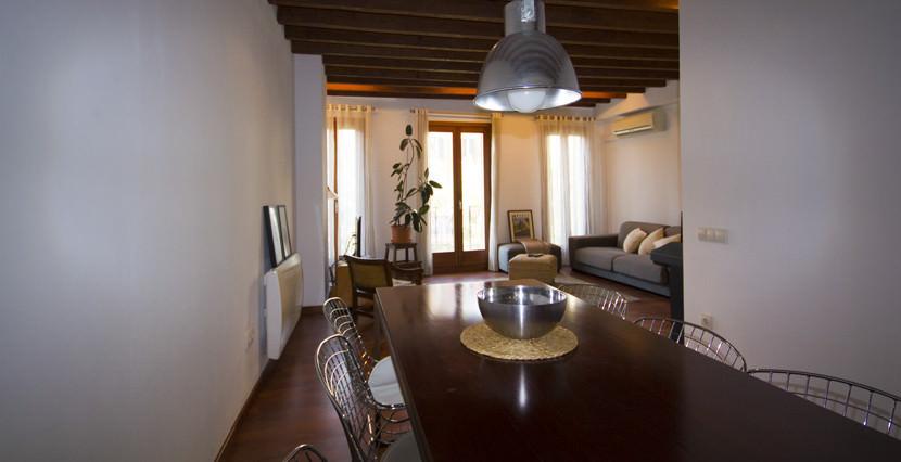 uniquevillasmallorca apartment for sale in Palma dining area