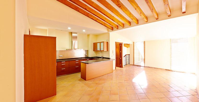 uniquevillasmallorca la lonja duplex open kitchen
