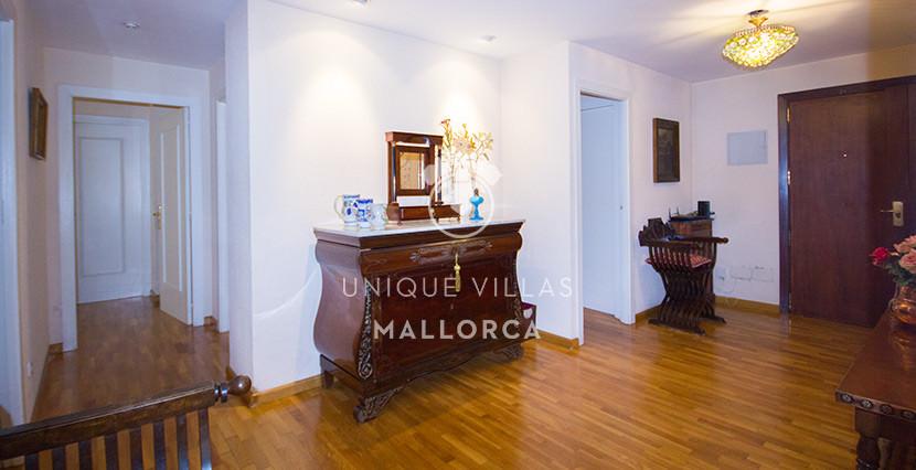 uniquevillasmallorca flat for sale in son dameto entrance