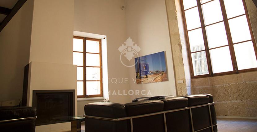 uniquevillasmallorca loft for sale in palma center living area 2