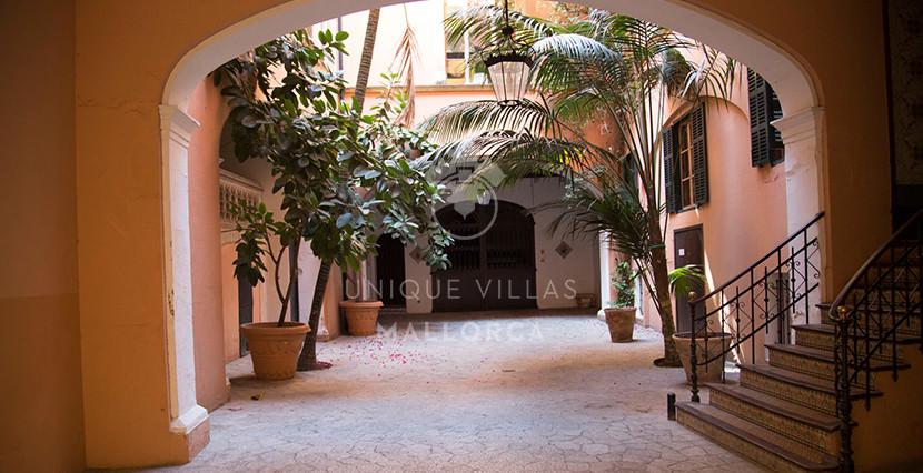 uniquevillasmallorca loft for sale in palma center patio