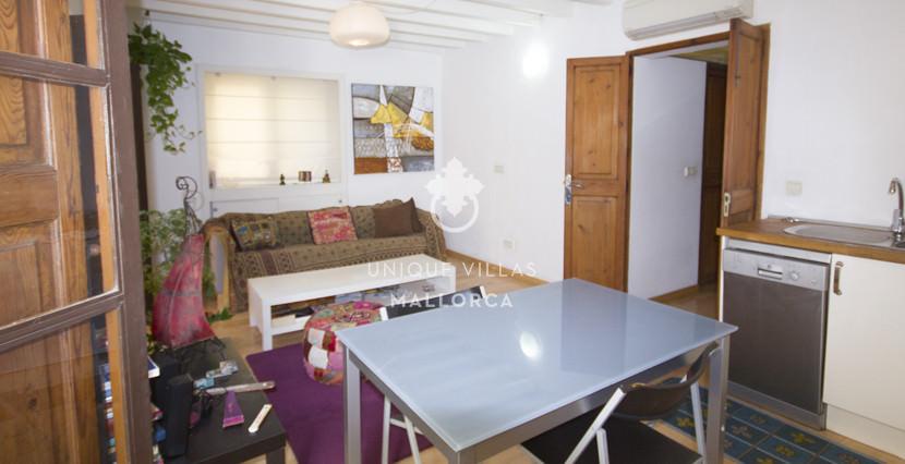 unique villas mallorca studio for sale in Palma centeer living area