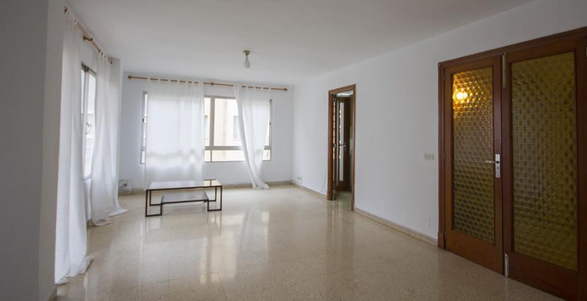 uniquevillasmallorca bright flat for sale near palma center living area