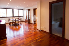 uniquevillasmallorca penthouse for sale in Avenidas entrance dining