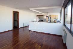 uniquevillasmallorca penthouse for sale in Avenidas living kitchen areas