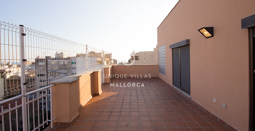 uniquevillasmallorca penthouse for sale in Avenidas terrace