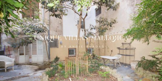 Ground Floor with Romantic Garden for Sale in Old Town Palma-uvm47b