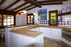 unique villas mallorca finca for sale in sencelles kitchen