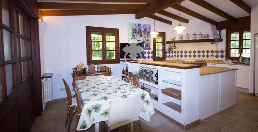 unique villas mallorca finca for sale in sencelles kitchen & offfice