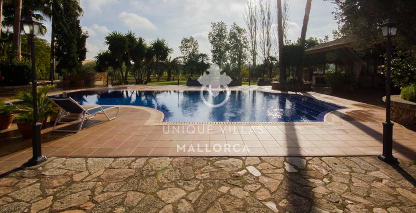 unique villas mallorca finca for sale in sencelles pool