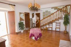 unique villas mallorca house for sale in Establiments entrance