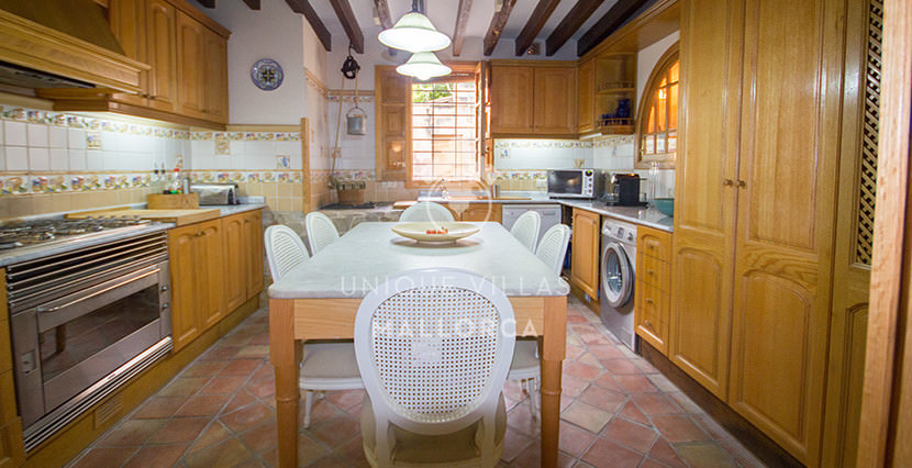 unique villas mallorca house for sale in La Bonanova kitchen
