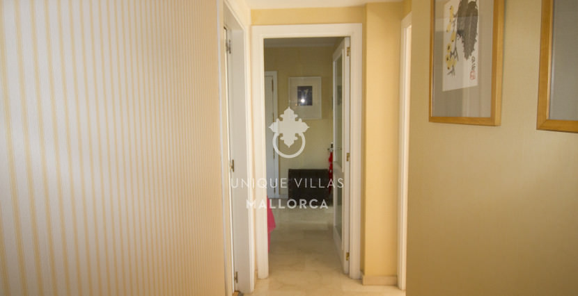 uniquevillasmallorca ground floor for sale in La Bonanova hallway