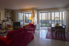 uniquevillasmallorca ground floor for sale in La Bonanova living dining area